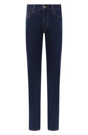 Мужские джинсы CANALI темно-синего цвета, арт. 91700R/PD00832 | Фото 1