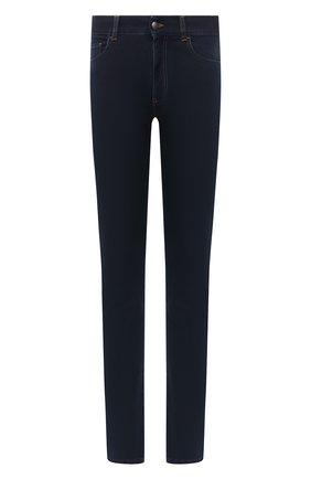 Мужские джинсы CANALI темно-синего цвета, арт. 91700/PD00817 | Фото 1