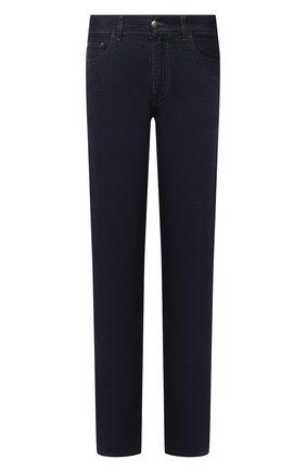 Мужские джинсы CANALI темно-синего цвета, арт. 91700/PD00815 | Фото 1