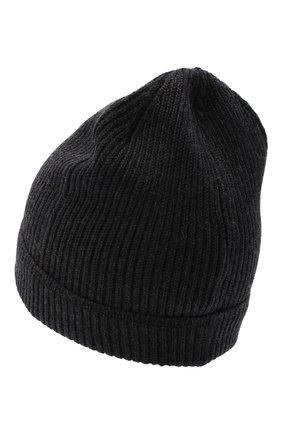 Мужская шерстяная шапка CANALI темно-серого цвета, арт. B0020/MK00461 | Фото 2