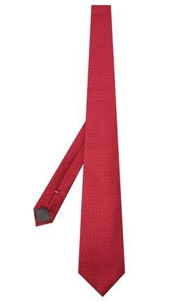 Мужской шелковый галстук CANALI красного цвета, арт. 70/HJ02839 | Фото 2
