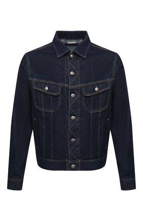 Мужская джинсовая куртка RALPH LAUREN темно-синего цвета, арт. 790799577 | Фото 1