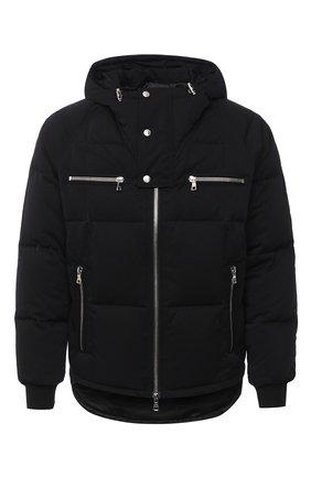 Мужская пуховая куртка BALMAIN черного цвета, арт. UH18817/X113 | Фото 1