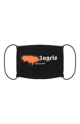 Мужская маска для лица PALM ANGELS черного цвета, арт. PMRG003E20JER0091020 | Фото 1