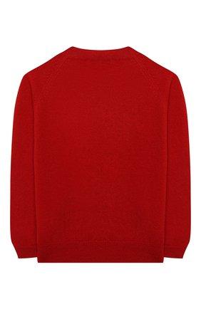 Детский шерстяной пуловер IL GUFO красного цвета, арт. A20MA335EM220/5A-8A | Фото 2