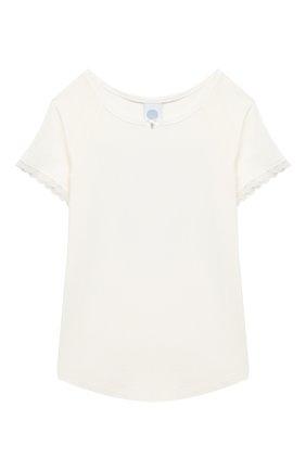 Детская пижама SANETTA белого цвета, арт. 244688 | Фото 2