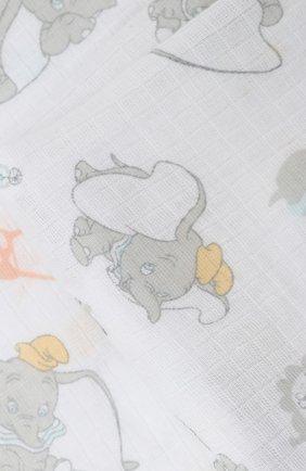 Детского комплект из 4-х пеленок ADEN+ANAIS разноцветного цвета, арт. ESWC40007DIB | Фото 2