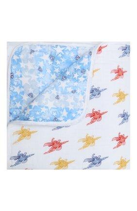 Детского хлопковое одеяло ADEN+ANAIS разноцветного цвета, арт. EMBC10006WB   Фото 1
