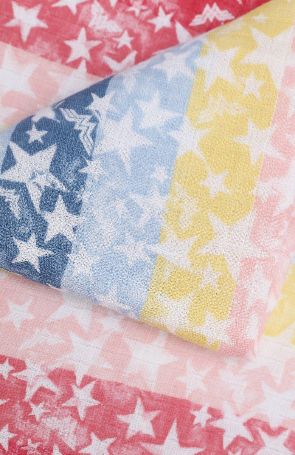 Детского комплект из двух пеленок ADEN+ANAIS разноцветного цвета, арт. ESWC20009WBB   Фото 6