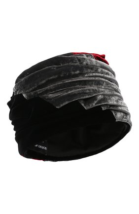 Женский шапка из вискозы и шелка GIORGIO ARMANI разноцветного цвета, арт. 797406/0A511 | Фото 1