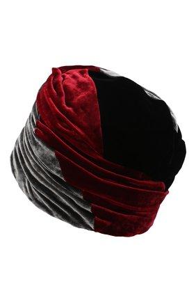 Женский шапка из вискозы и шелка GIORGIO ARMANI разноцветного цвета, арт. 797406/0A511 | Фото 2