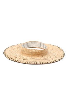 Женская шляпа GIORGIO ARMANI бежевого цвета, арт. 797024/0A933   Фото 1