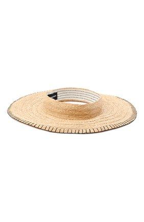 Женская шляпа GIORGIO ARMANI бежевого цвета, арт. 797024/0A933   Фото 2