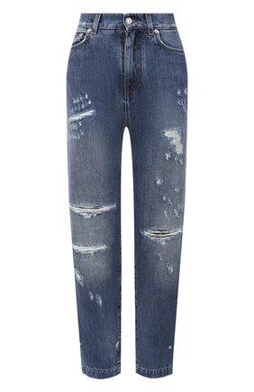 Женские джинсы DOLCE & GABBANA синего цвета, арт. FTBXGD/G8CT6 | Фото 1