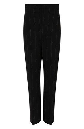 Женские брюки BALENCIAGA черного цвета, арт. 622011/TILT7   Фото 1
