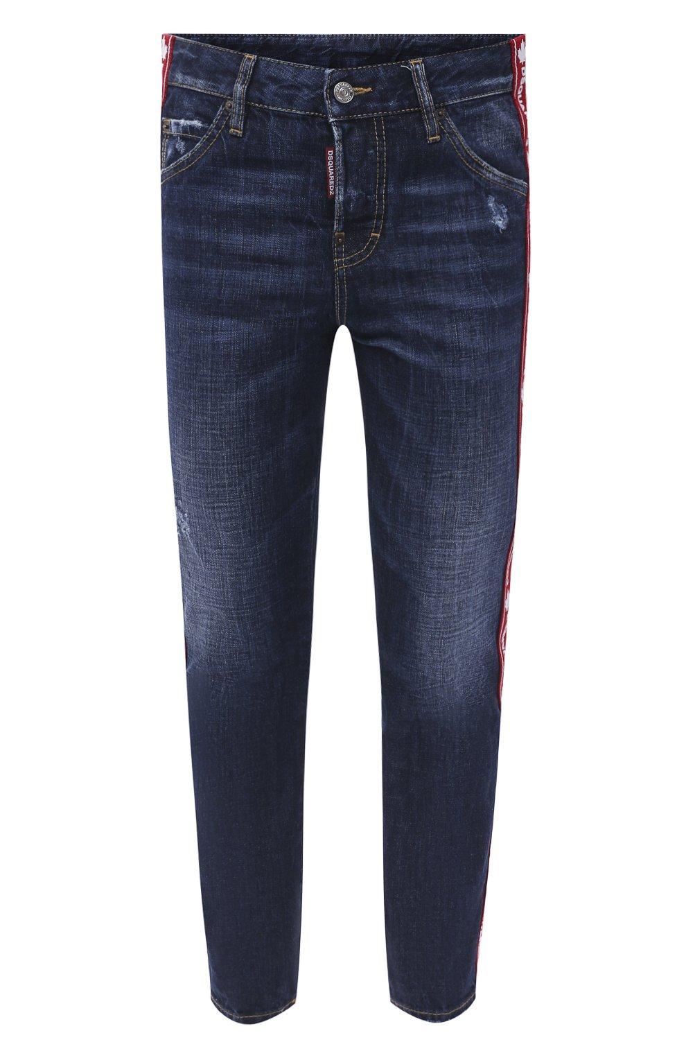Женские джинсы DSQUARED2 синего цвета, арт. S75LB0411/S30309   Фото 1