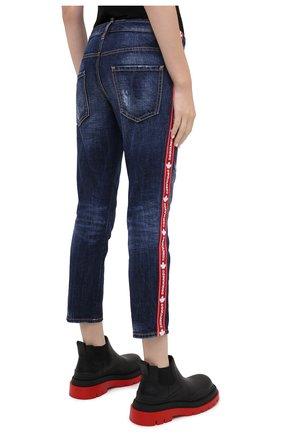 Женские джинсы DSQUARED2 синего цвета, арт. S75LB0411/S30309   Фото 5