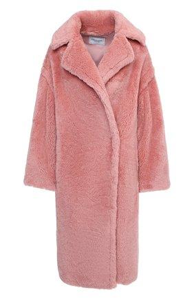 Женская шуба из экомеха FORTE DEI MARMI COUTURE розового цвета, арт. 20WF7501-03 | Фото 1