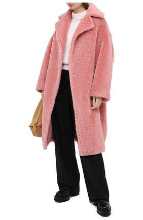 Женская шуба из экомеха FORTE DEI MARMI COUTURE розового цвета, арт. 20WF7501-03 | Фото 2