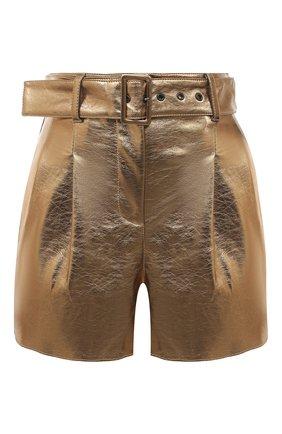 Женские шорты MSGM бронзового цвета, арт. 2941MDB11 207684 | Фото 1