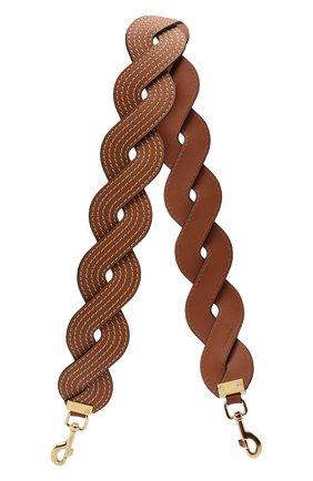 Женские ремень для сумки LOEWE светло-коричневого цвета, арт. 325.54BR42 | Фото 1
