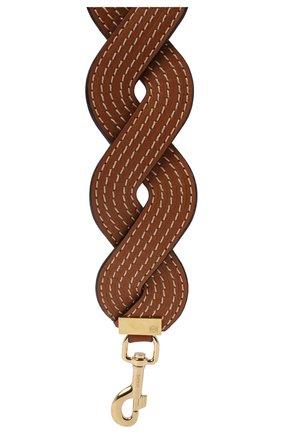Женские ремень для сумки LOEWE светло-коричневого цвета, арт. 325.54BR42 | Фото 2