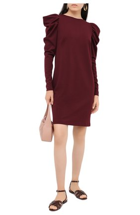Женское платье PIETRO BRUNELLI бордового цвета, арт. AG0390/VIU718   Фото 2