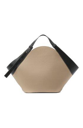 Женская сумка basket YUZEFI бежевого цвета, арт. YUZPF20-BA-04 | Фото 1