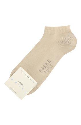 Женские носки FALKE кремвого цвета, арт. 47629. | Фото 1