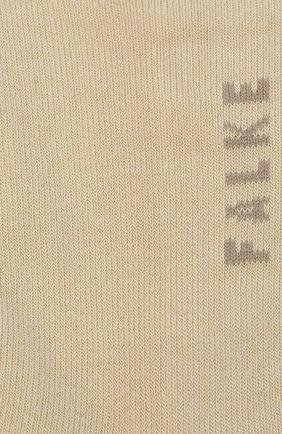 Женские носки FALKE кремвого цвета, арт. 47629. | Фото 2
