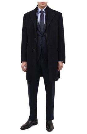 Мужские кожаные лоферы ALDO BRUE черного цвета, арт. AB602FPK-NL.P.2D70R | Фото 2