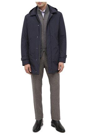 Мужские кожаные сапоги ALDO BRUE черного цвета, арт. AB7117.MP.P.FF90CPB   Фото 2