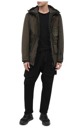 Мужская утепленная куртка C.P. COMPANY хаки цвета, арт. 09CM0W188A-005686G | Фото 2