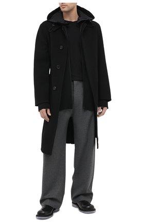 Мужские кожаные челси BOTTEGA VENETA черного цвета, арт. 632510/VBS30 | Фото 2