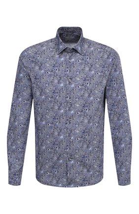 Мужская хлопковая сорочка VAN LAACK синего цвета, арт. RET0N1-SF/171478 | Фото 1