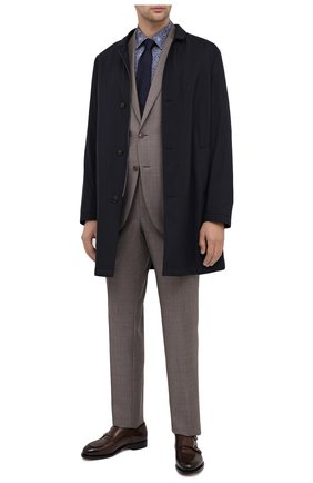 Мужская хлопковая сорочка VAN LAACK синего цвета, арт. RET0N1-SF/171478 | Фото 2