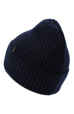 Мужская кашемировая шапка CORTIGIANI темно-синего цвета, арт. 911129/0000 | Фото 2