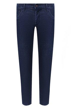 Мужские джинсы DOLCE & GABBANA темно-синего цвета, арт. GYD2LT/G8CX1 | Фото 1