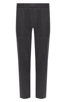 Мужской шерстяные брюки MONCLER серого цвета, арт. F2-091-2A741-00-54233 | Фото 1
