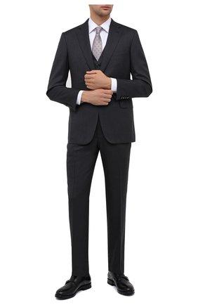 Мужские кожаные монки W.GIBBS черного цвета, арт. 0220004/2302 | Фото 2