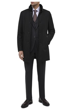 Мужской кожаные дерби W.GIBBS бордового цвета, арт. 3169008/2299 | Фото 2