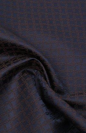 Мужской шелковый платок BRIONI коричневого цвета, арт. 071000/0944C | Фото 2