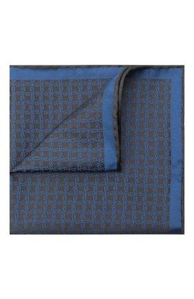 Мужской шелковый платок BRIONI серого цвета, арт. 071000/0944C | Фото 1