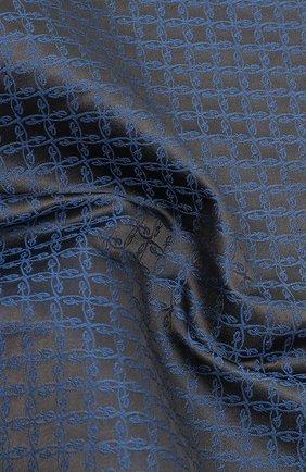 Мужской шелковый платок BRIONI серого цвета, арт. 071000/0944C | Фото 2