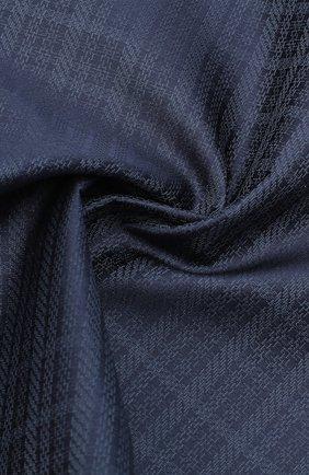 Мужской шелковый платок BRIONI темно-синего цвета, арт. 071000/0942X | Фото 2