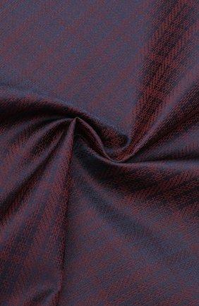 Мужской шелковый платок BRIONI бордового цвета, арт. 071000/0942X | Фото 2