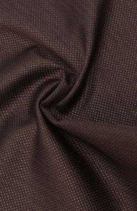 Мужской шелковый платок BRIONI коричневого цвета, арт. 071000/0942R | Фото 2