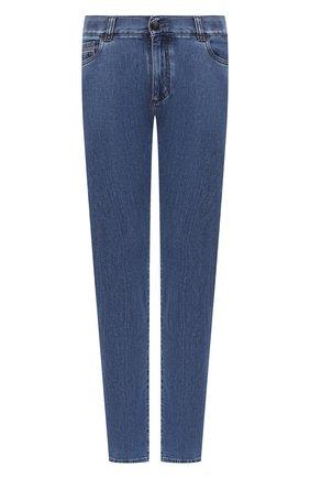 Мужские джинсы CANALI синего цвета, арт. 91732R/PX00818 | Фото 1