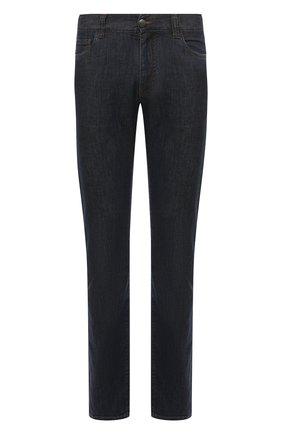 Мужские джинсы CANALI темно-синего цвета, арт. 91700/PD00400 | Фото 1