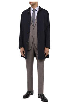 Мужская хлопковая сорочка CANALI голубого цвета, арт. XX05/GX02027 | Фото 2